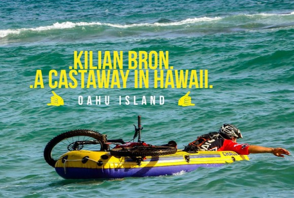 Kilian Bron (Sunn Bicycles) rides Hawaii