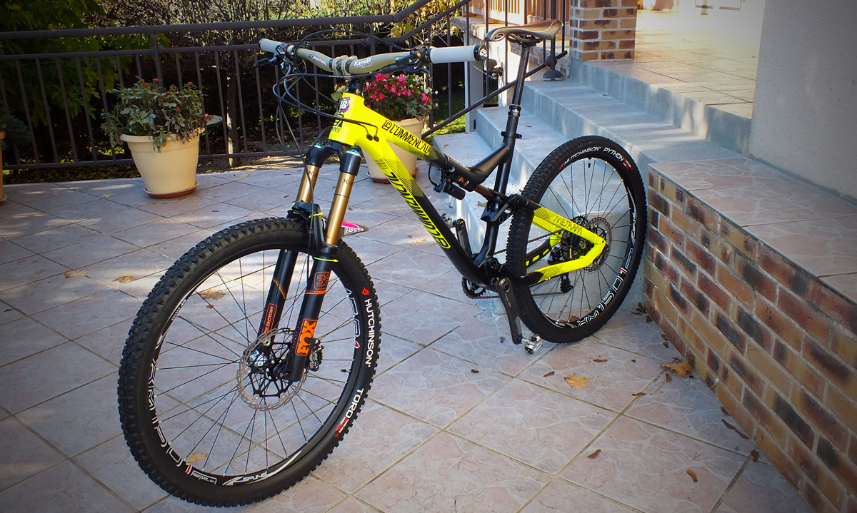 commencal meta v4 de cyril