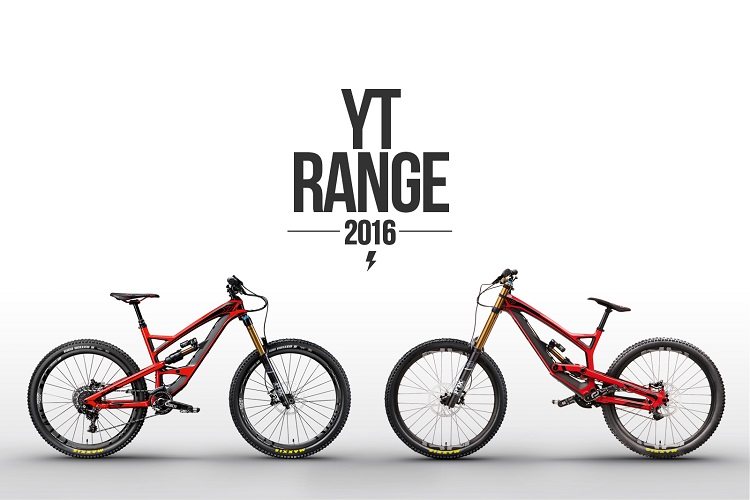 Update de la gamme 2016 – YT industries