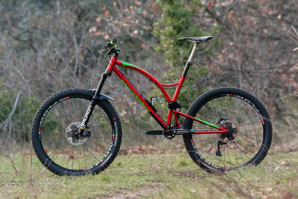 caminade one4all steel full suspension bike