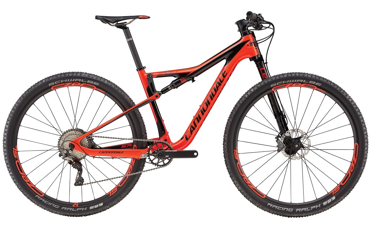 cannondale scalpel Si 2017 red