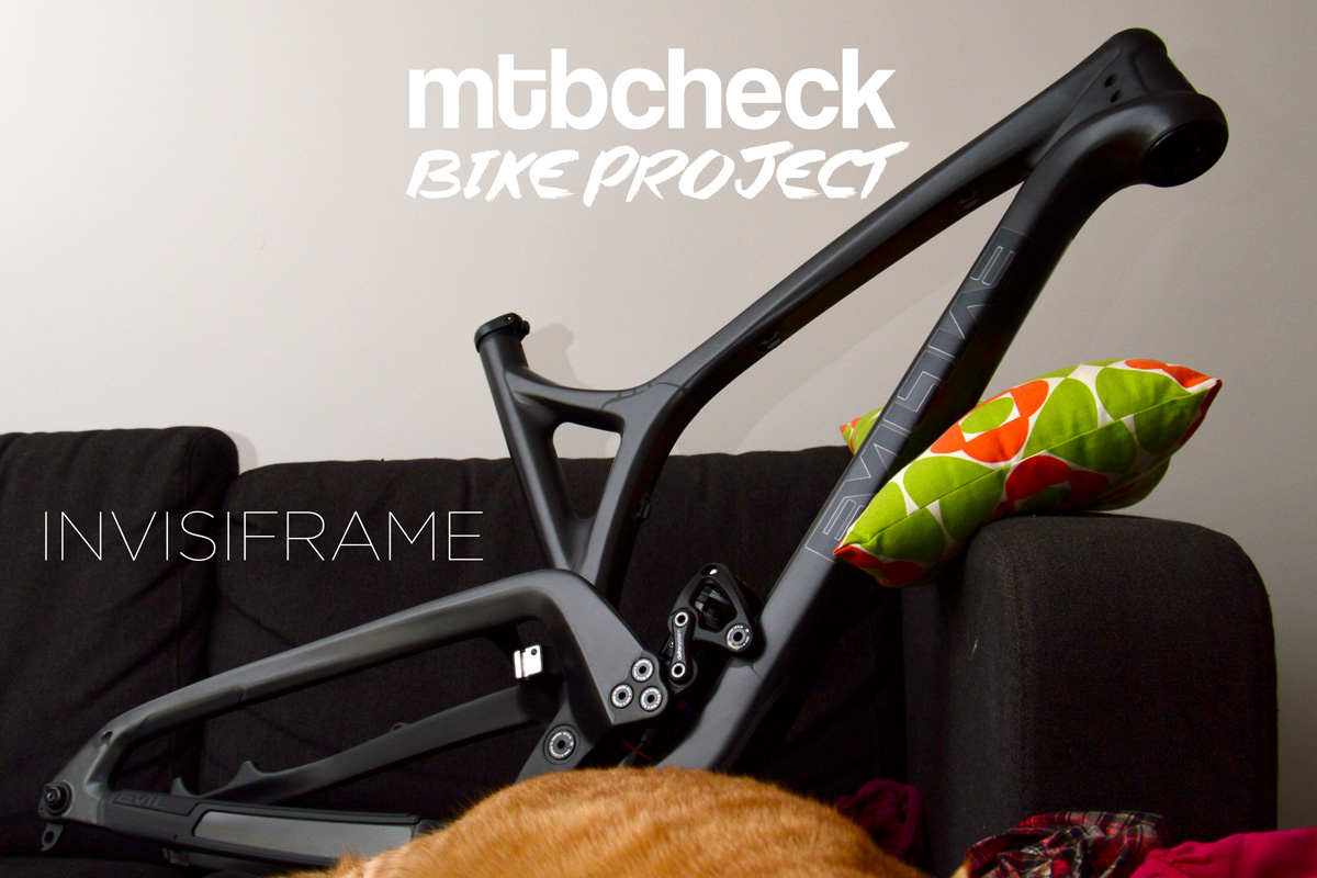 MTBCHECK BikeProject: l'étape Invisiframe