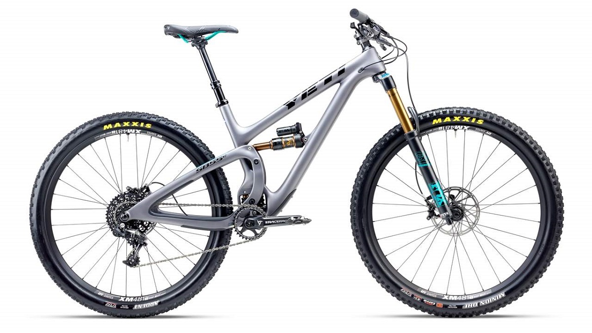 yeti SB55C vue profile trail bike 2017