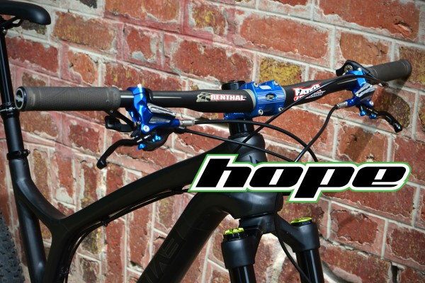 freins hope tech disponible en bleu