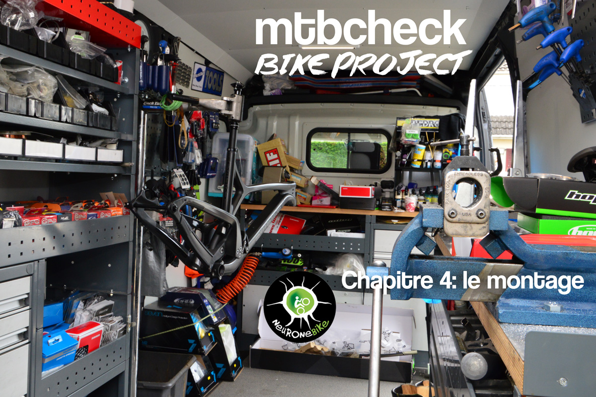 MTBCHECK BikeProject: le montage par Neurone Bike
