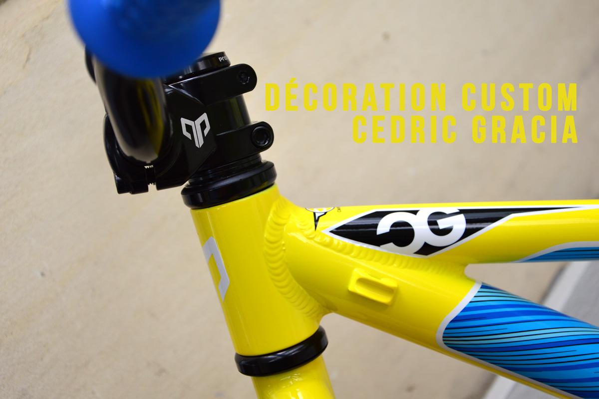 decoration pro rider cedric gracia