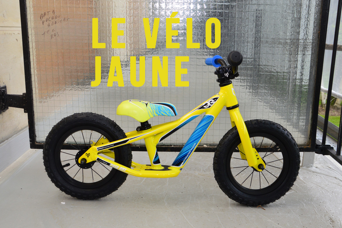 Bikecheck: Production Privée Macaw CG pushbike alias « le vélo jaune »