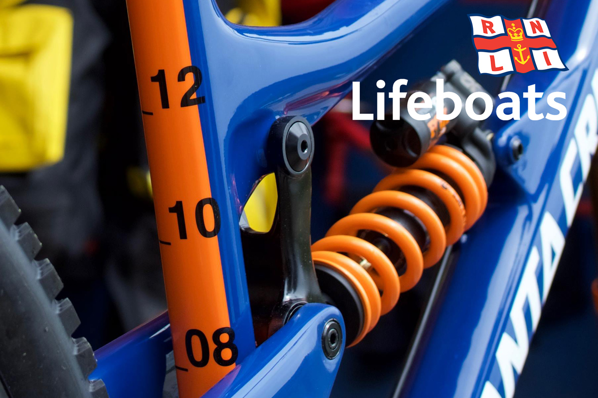 Hot or super hot: Santa Cruz Nomad RNLI Lifeboats