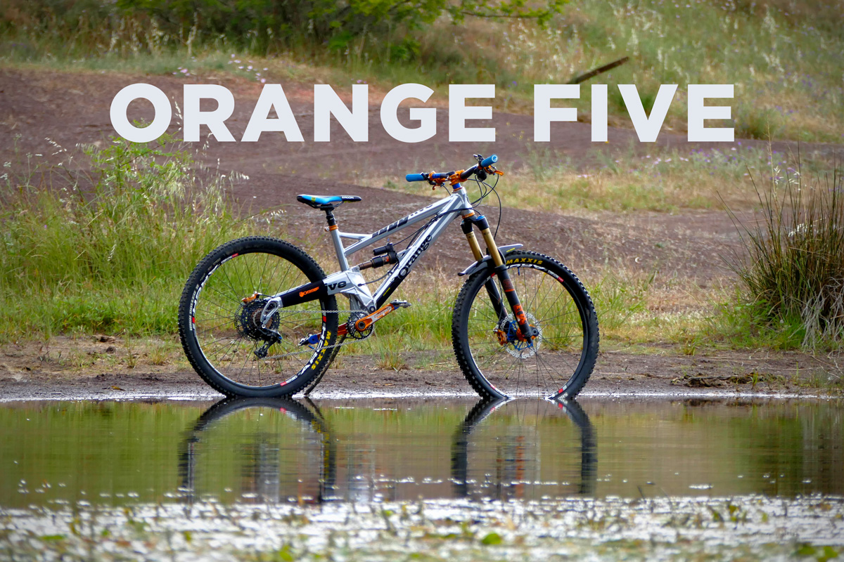 Bikecheck: l'Orange Five de José – Mobile Bike