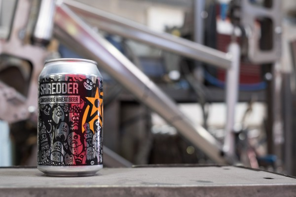 shredder beer orange mtb