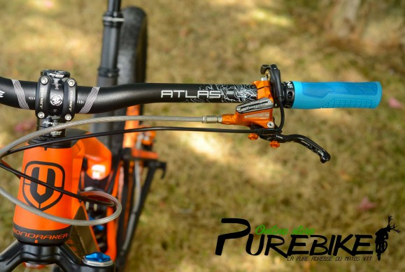 Hot or not: Montage Purebike sur Mondraker Foxy XR