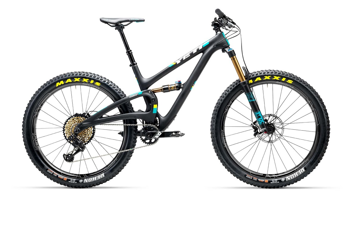 Le all mountain Yeti Sb5 relifté et proposé en 27.5 Plus