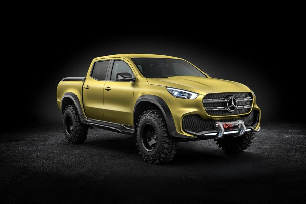 mercedes concept pick up 2017