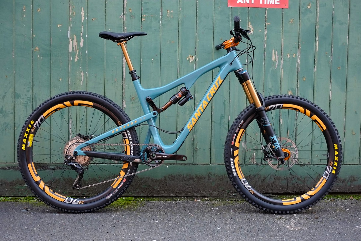 trailhead santa cruz bronson cc custom 2
